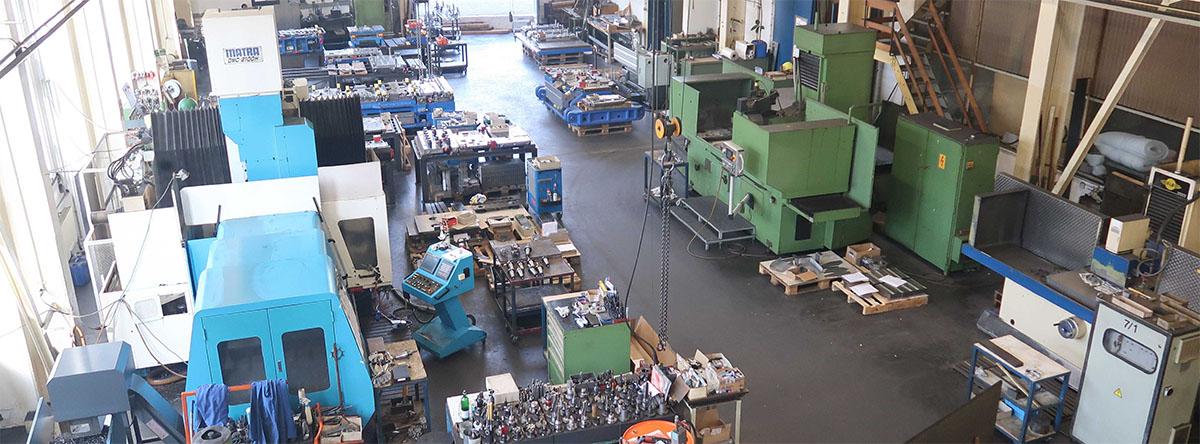 Maschinenpark Gegner Werkzeugbau